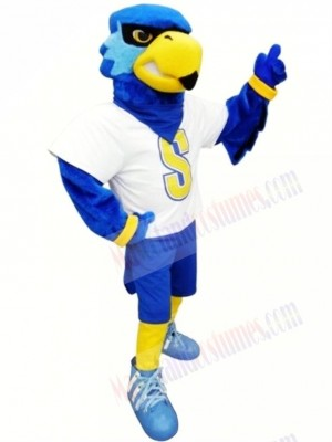 Sport Blue Bird Mascot Costume