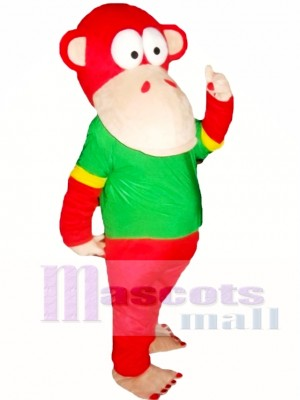 Red Monkey Mascot Costumes
