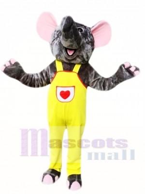Gray Elephant Mascot Costumes