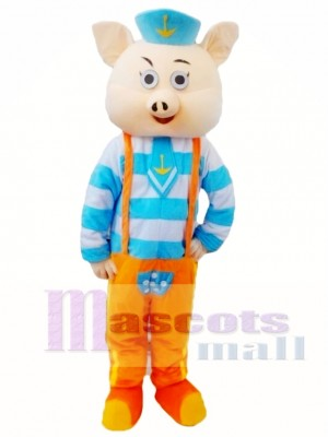 Cartoon Pig Mascot Costume