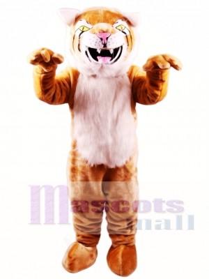 Bobcat Mascot Costume