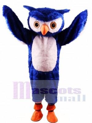 Blue Owl Mascot Costume