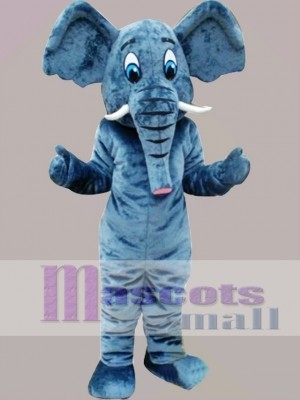 Elephant Mascot Costume Cartoon