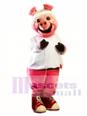 Ollie Oink Pig Mascot Costume