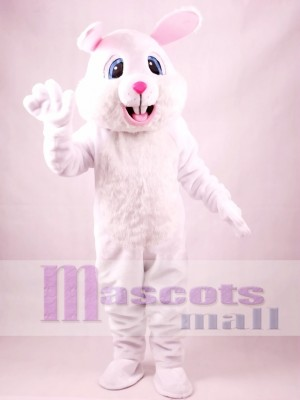 White Rabbit Easter Bunny Mascot Costume