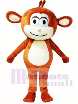 Brown Monkey Mascot Costume
