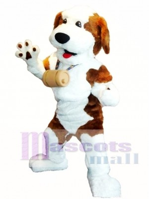Cute Wizard Dog Mascot Costume