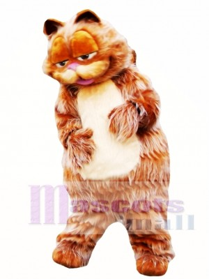 Adorable Garfield Cat Mascot Costume