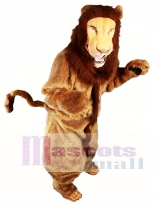 Best Quality Fur Lion Mascot Costume