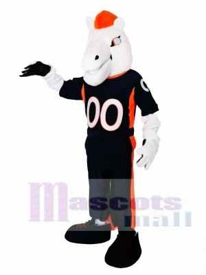 New Mustang Horse Broncos Mascot Costume