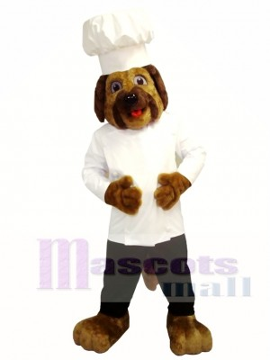 Chef Dog Mascot Costume