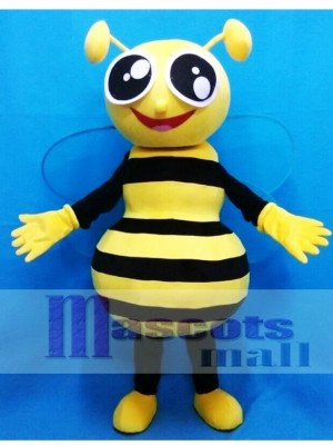 Happy Honey Bee Mascot Costume