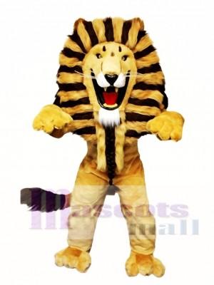 The King Lion Mascot Costume