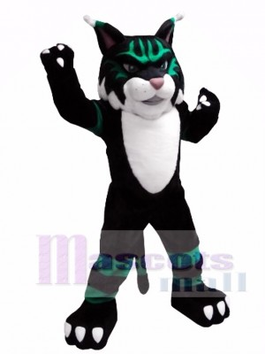 Colorful Wildcat Mascot Costume