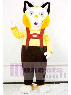 Huckle Cat Mascot Costume