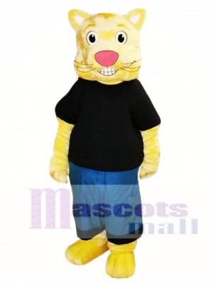 Cookie the Culture Cat Mascot Costume