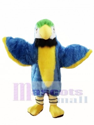 Blue Cute Parrot Mascot Costume Bird Costume for Adult