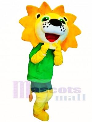 Sunshine Flower Lion Mascot Costume