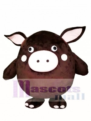 Brown Pig Mascot Costumes