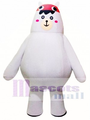 White Big Bear Mascot Costumes