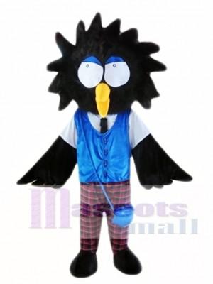 Cartoon Crow Mascot Costume
