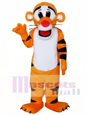 New Professional Tiger Mascot Cartoon Costume