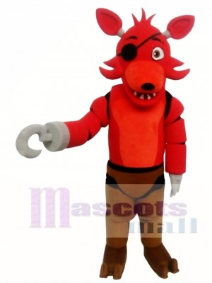 FNAF Five Nights At Freddy's Toy Red Foxy Mascot Costume