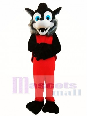 Popular Animal Gray Wolf Mascot Costume