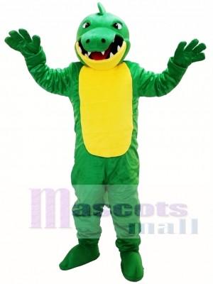 Big Mouth Crocodile Mascot Costume