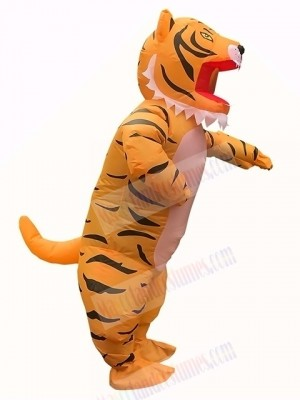 Strong Tiger Inflatable Costume Halloween Xmas for Adult Cosplay Party Dress