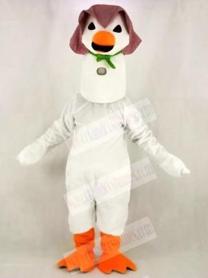 White Mother Goose Mascot Costume School