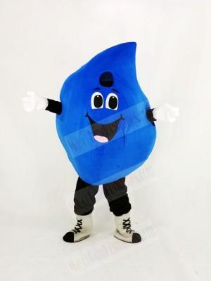 Funny Water Drop Mascot Costume Cartoon