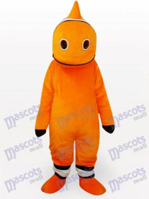 Fish Cartoon Adult Mascot Costume