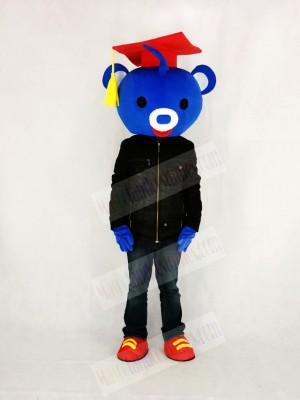 Cute Doctor Bear Mascot Costume College