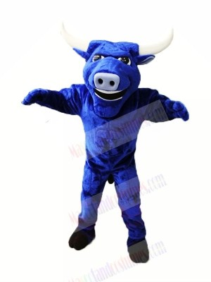 Strong Blue Bull Mascot Costumes Animal