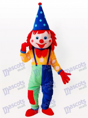 Clown Adult Mascot Funny Costume