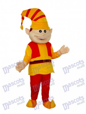 French Clown Mascot Adult Costume