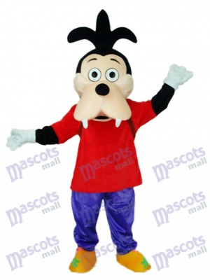 Goofy Dog Son Mascot Adult Costume