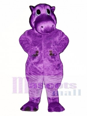 Hairy Potamus Hippo Mascot Costume