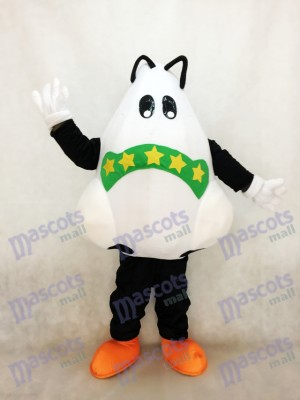 Cute Big Nose with Bandage Mascot Costume