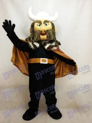 Thor the Giant Viking Mascot Costume with White Hemlet