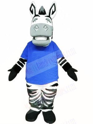 Cute Lightweight Zebra Mascot Costumes