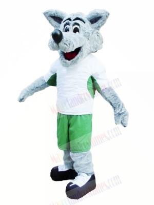 Sport Lightweight Wolf Mascot Costumes Cartoon