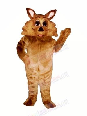 Brown Wolf Mascot Costumes Cartoon