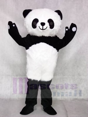 Hairy Panda Mascot Costumes Animal