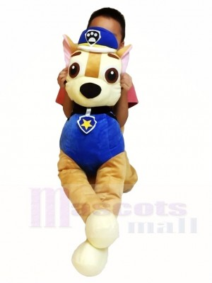 Piggyback Paw Patrol Chase Carry Me Ride on German Shepherd Dog Mascot Costumes