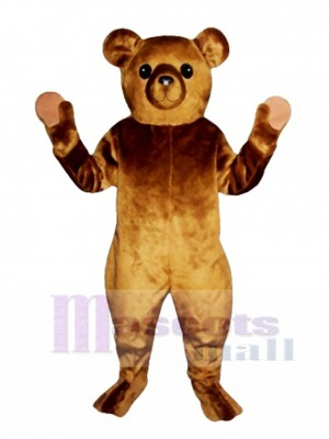 Old Fashioned Teddy Bear Christmas Mascot Costume