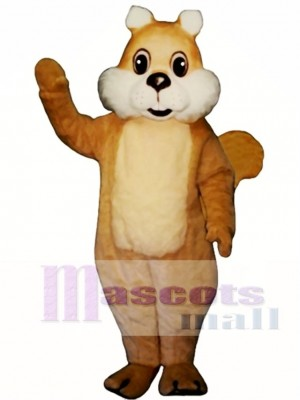 Chubby Squirrel Mascot Costume