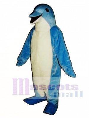 Cute Dolphin Mascot Costume