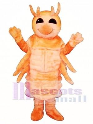 Cute Shrimp Mascot Costume